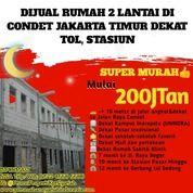 READY STOCK Rumah 2 Lantai Cuma 200Jutaan Di CONDET Jakarta Timur Dekat Tol (29199528) di Kota Jakarta Timur