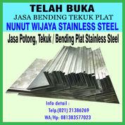 Jasa Potong, Tekuk / Bending Plat Stainless Steel (29216740) di Kota Bekasi