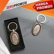 Souvenir Gantungan Kunci Besi Bentuk Oval Putar Promosi (29225392) di Kota Tangerang