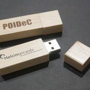 USB flashdisk dari bahan kayu FDWD01