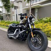 Motor Bekas + Harley Davidson + Sportster 48 2016 Olive Gold Color + Murah, Keren, Mulus (29285550) di Kota Bandung