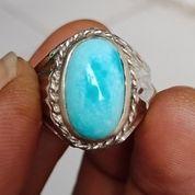 Natural Batu Cincin Pirus Persia Biru Ajib (29292019) di Kota Pasuruan