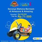 Amazone Amazing beli voucher top up nya di tiketcom aja. Kamu bisa mendapatkan saldo 100rb* (29292523) di Kota Jakarta Selatan