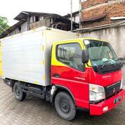 Mulus+BanBARU,MURAH Colt Diesel Canter Engkel FE71 Box Alumunium 2013 (29298140) di Kota Jakarta Utara