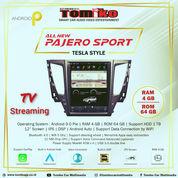 Head Unit Android Tomiko Tesla New Pajero | Upgrade Head Unit New Pajero | (29298486) di Kota Bekasi