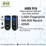 Fullset Paket Akses Door Lock Fingerprint MBB R19 Fitur ADMS (29313851) di Kota Surabaya