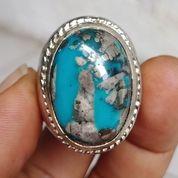 Natural Batu Pirus Persia Biru Fancy Unik (29325124) di Kota Pasuruan