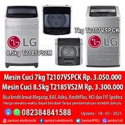 Mesin Cuci LG 7kg T2107VSPCK 8kg T2185VS2M Garansi Resmi (29359957) di Kota Pekanbaru