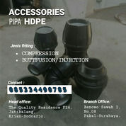 Aksesoris HDPE Dan Pipa HDPE Ready Banyak Stock (29376690) di Kab. Nagekeo