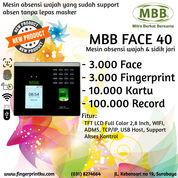 Mesin Absensi Fingerprint Dan Wajah MBB Face 40 Fitur WIFI Support Dapodik (29377447) di Kota Surabaya