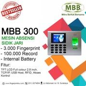 MBB 300 Mesin Absensi Fingerprint Internal Baterai Best Seller (29377478) di Kota Surabaya