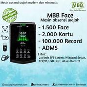 Mesin Absensi Wajah MBB Face Fitur ADMS Support Dapodik Dan Software Geisa (29377599) di Kota Surabaya