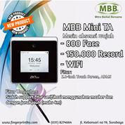 MBB MINI TA Mesin Absensi Wajah Touch Screen Fitur ADMS Dan WIFI (29377625) di Kota Surabaya
