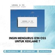 IZIN REKLAME OSS (29400672) di Kota Jakarta Selatan