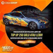 Codashop Top up minimal 250 Gold Need For Speed, dan dapatkan Skin Mobil edisi Spesial Codashop! (29405052) di Kota Jakarta Selatan