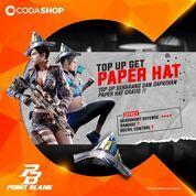 Codashop Dapatkan Paper Hat, Helm unik yang super menarik* (29405061) di Kota Jakarta Selatan