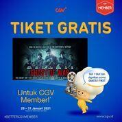 CGV Beli 1 GRATIS 1 setiap pembelian tiket film #GhostOfWar di CGV dengan CGV Member* (29407918) di Kota Jakarta Selatan