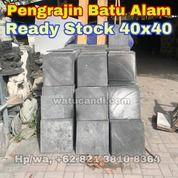 Batu Alam Candi Hitam Ukuran 40x40 (29408923) di Kota Sukabumi