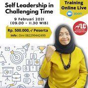 Pelatihan Online Kepemimpinan Self Leadership In Challenging Time Jakarta (29421647) di Kota Bekasi