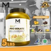 Muscle First Gold Pro Isolate 5 Lbs / Lb Fit Fitness Gym M1 Protein Supplement Suplemen Susu Whey (29422899) di Kota Jakarta Utara