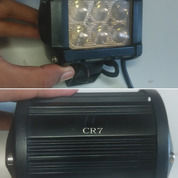LAMPU TEMBAK KABUT OFFROAD CR7 Lampur Sorot Motor LED 6 Mata Susun Dua Merk CR7 (29467231) di Kota Semarang