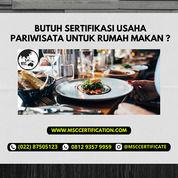 Sertifikasi Usaha Pariwisata Rumah Makan (29470498) di Kab. Bandung