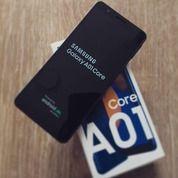 Samsung A01 Core 2/32GB Biru Mulus Belum 1 Bln (29475692) di Kota Bekasi