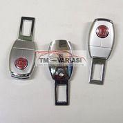 Colokan Seatbelt 2in1 Safety Belt Buzzer Extention Besi Oval Honda Red (29515012) di Kota Jakarta Pusat