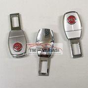 Colokan Seatbelt 2in1 Safety Belt Buzzer Extention Oval Toyota Merah (29515529) di Kota Jakarta Pusat