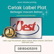 Cetak Label Plat (29516612) di Kota Cilegon