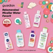 Guardian Promo Makeup Remover, Micellar Water up to 50% (29520191) di Kota Jakarta Selatan