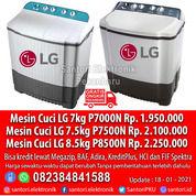 Mesin Cuci LG 7kg P7000N 7.5kg P7500N 8.5kg P8500N Garansi Resmi (29522661) di Kota Pekanbaru