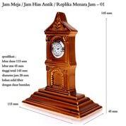 Jam Mini Fiber Miniatur Menara (29528106) di Kota Jakarta Timur