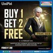 INDOMARET Buy 1 Get 2 Dynamic Duo dari Free Fire! (29536747) di Kota Jakarta Selatan