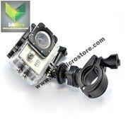 Holder Stand Stang Motor Sepeda Mount 17-30mm For GoPro / Xiaomi Yi (29540353) di Kota Surakarta