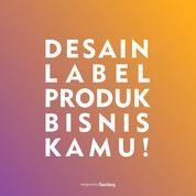 Jasa Desain Label Untuk Produk Kamu (29546032) di Kab. Sidoarjo