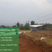 Cilengkrang Hill Top, Kavling Siap Bangun Bandung Timur (2 Unit Lagi) (29547779) di Kota Bandung