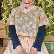 Atasan Wanita Sifon Vintage Mulus Like New (29571052) di Kab. Sleman