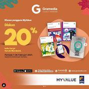 Gramedia DISKON 20% buku karya Haruki Murakami khusus pengguna MyValue (29571652) di Kota Jakarta Selatan