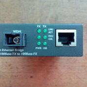 PLANET FT-806A20 *10/100BASE-TX to 100BASE-FX (WDM TX:1310nm, SM) Bridge Media Converter -- 20km