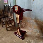 Podium Pidato Hidrolik Stainless Kayu Jati (29588947) di Kota Jakarta Timur