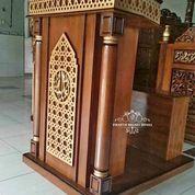 Mimbar Podium Masjid Minimalis + Dudukan (29589004) di Kota Jakarta Timur