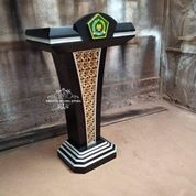 Podium Pidato Kayu Jati Minimalis (29589014) di Kota Jakarta Timur