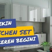 TERMURAH!! WA: O8l2-3787-8O99, Kitchen Set Kompor Tanam Batu (29593082) di Kota Batu