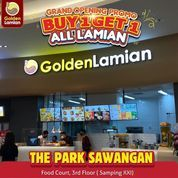Golden Lamian Grand Opening @theparksawangan !! Promo BUY 1 GET 1 FREE ALL MAIN DISH LAMIAN (29607146) di Kota Depok