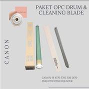PAKET OPC DRUM DAN CLEANING BLADE ORIGINAL CANON IR 4570 5703 530 2870 2830 2270 2230 SILENCER (29620408) di Kota Surabaya