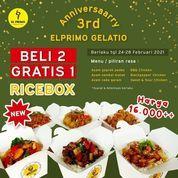 EL PRIMO GELATIO CAFE Beli 2 Gratis 1 Rice Box (29620698) di Kota Semarang