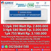 AC / Air Conditoner GREE 1/2pk GWC-05MOO3 3/4pk GWC-07MOO3 1pk GWC-09MOO3 Garansi Resmi (29621359) di Kota Pekanbaru