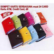 Dompet Kartu Kulit Imitasi Dompet Lipat Mini Aneka Warna 12 Layer Tempat Wadah (29628218) di Kota Surabaya
