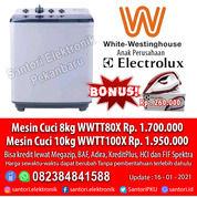 Mesin Cuci Electrolux / White-WestingHouse 8kg & 10kg Garansi Resmi (29634440) di Kota Pekanbaru